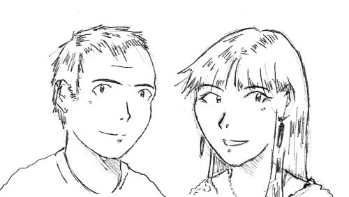 Fer y Bea Arigatô