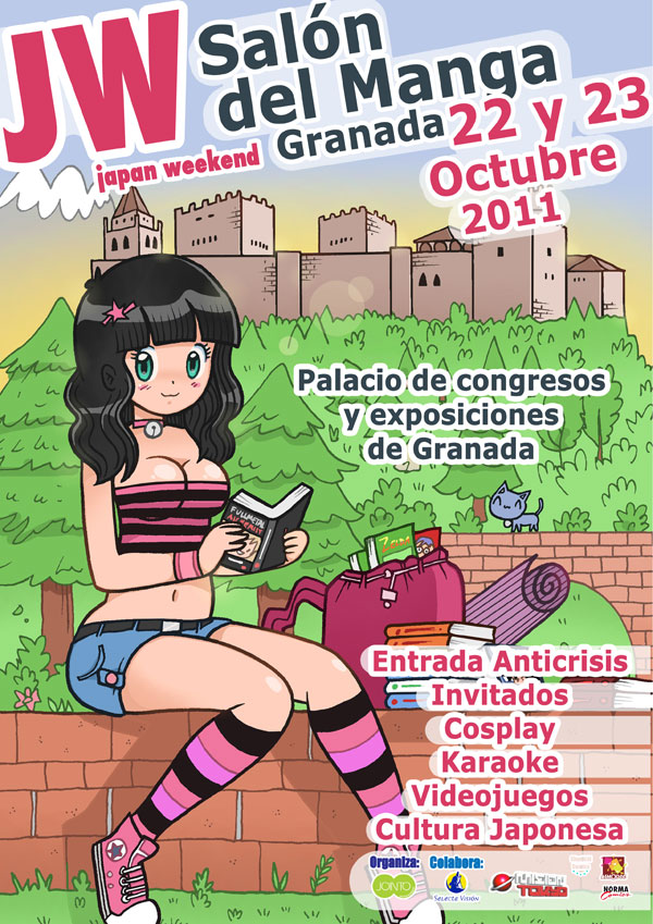 Salón del Manga de Granada 2011 Japan-weekend-granada-2011