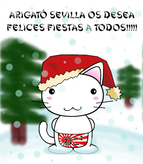 Neko Neko Christmas navidad.png