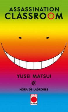 Cover Assassination Classroom 10