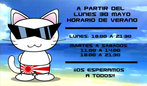 Arigato Horario de Verano.png