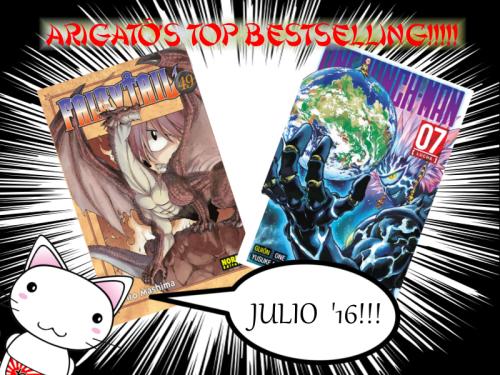 Mas vendidos Arigato JULIO 16