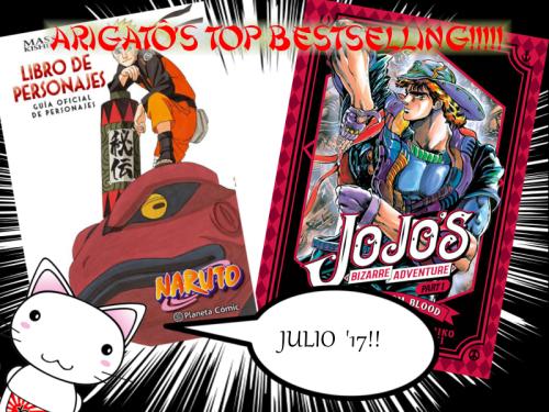 Mas vendidos Arigato JULIO 17
