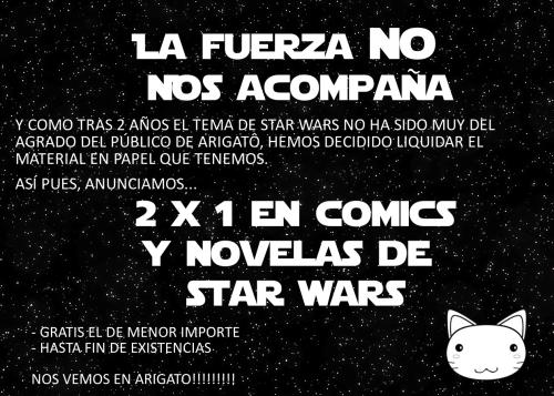 STAR WARS FUERA