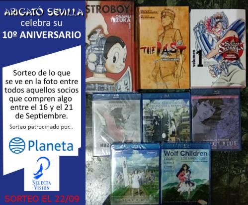 Arigato X Aniversario - SORTEO 3